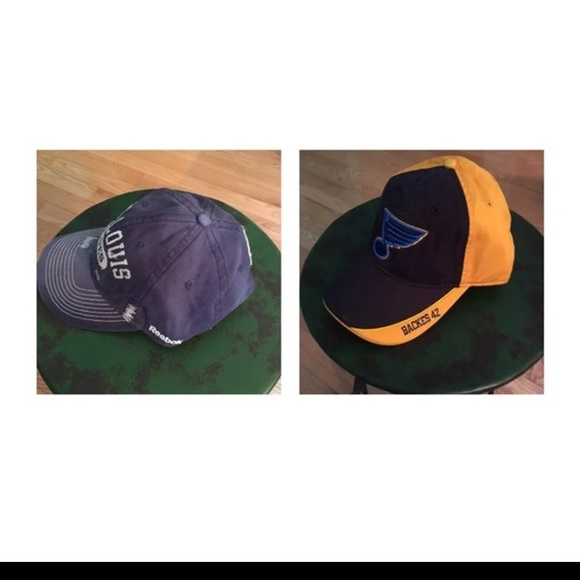Two NHL St Louis Blues Hats NWT